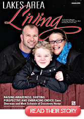 Link to pdf of Discovery Horse Story in Lakes Area Living Magazine