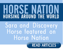 Sara interviewed on Horse Nation